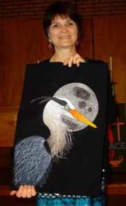 First Place-Elaine Bell - Heron By The Moon